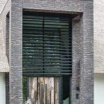 Robuuste barnwood voordeuren - totaal beeld