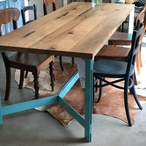 reclaimed wood maatwerk tafel (14)