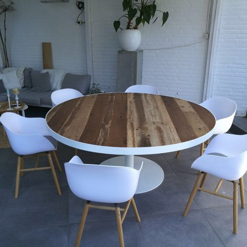 ronde tafel barnwood (3)